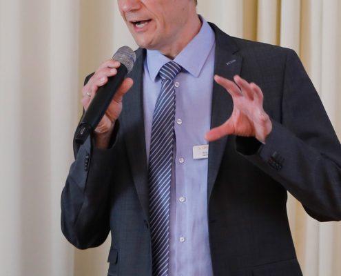 Anwenderforum simus classmate 2016: Herr Dr. Michelis spricht