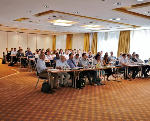 Anwenderforum simus classmate 2016: Zuhörer gespannt