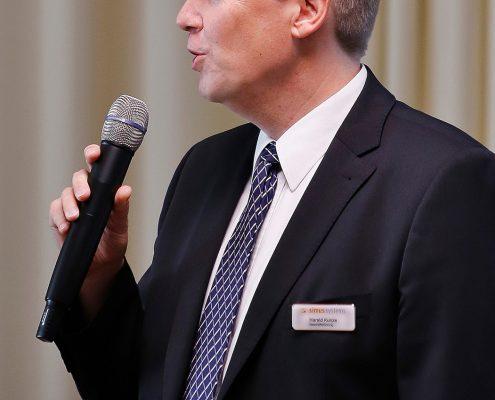 Anwenderforum simus classmate 2016: Herr Dr. Kunze spricht