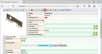 easyFINDER Datensätze bearbeiten