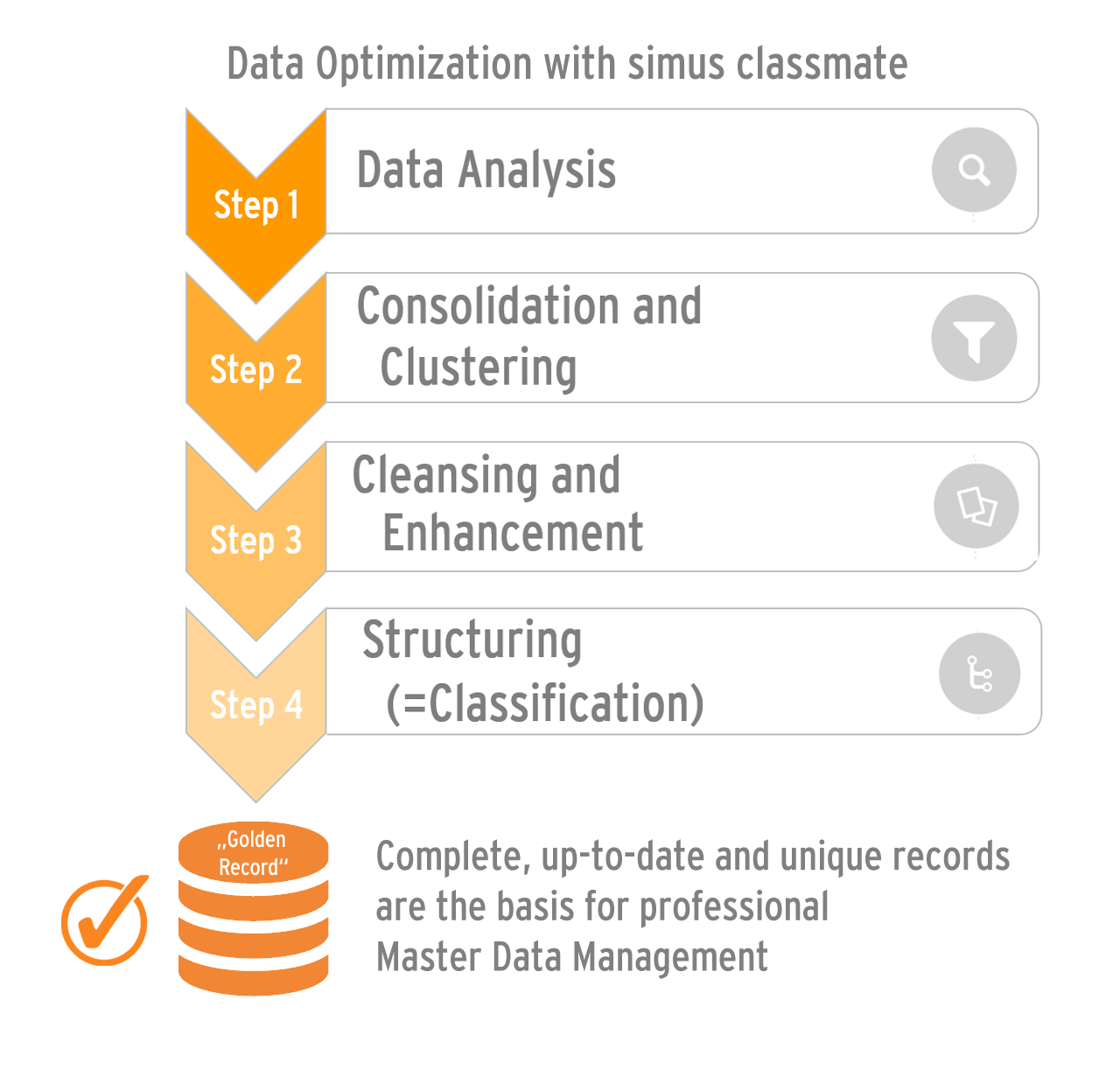 Optimize master data