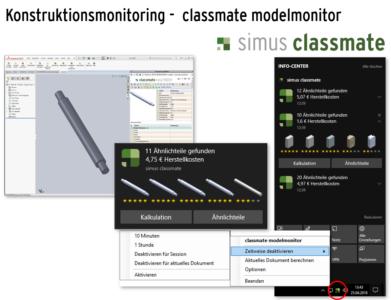 Durch das neue Tray-Icon ist der Model Monitor noch einfacher in Windows zu bedienen