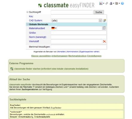classmate easyFINDER