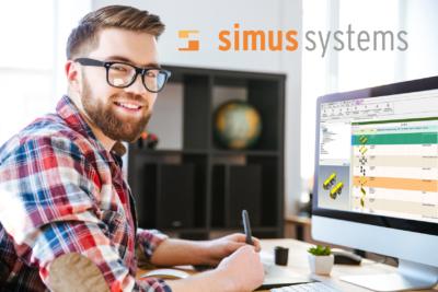 Nutzer von simus classmate am Bildschirm